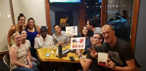 Beer NV DJ Trivia regulars Oliver Wendell's Homies